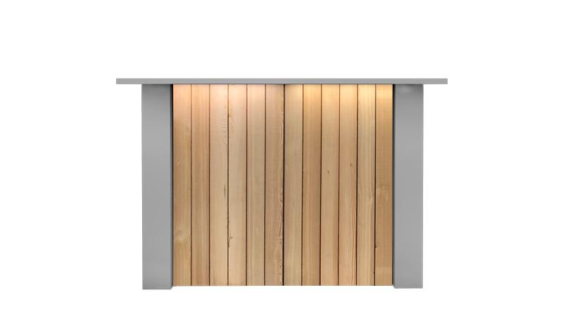 Witte Rechte Bar Huren: FlexxBar Lumber
