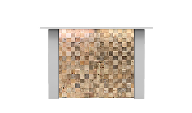 Witte Rechte Bar Huren: FlexxBar Cube