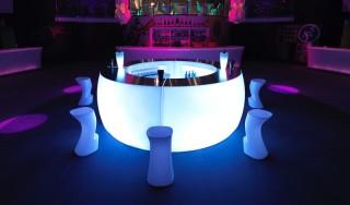 Ronde LED Bar Huren: Curva
